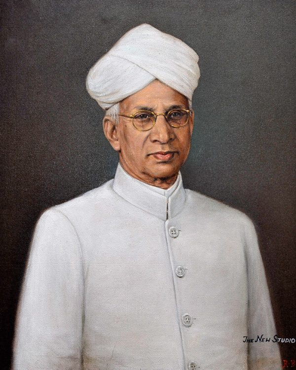 President S Radha Krishan of India