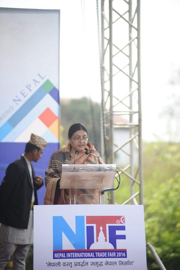 addressing-nepal-international-trade-fair